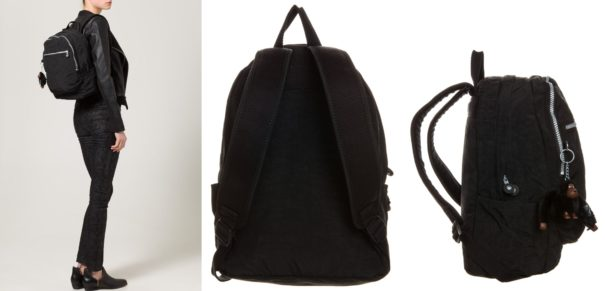 Kipling CLASSIC CHALLENGER Plecak schwarz