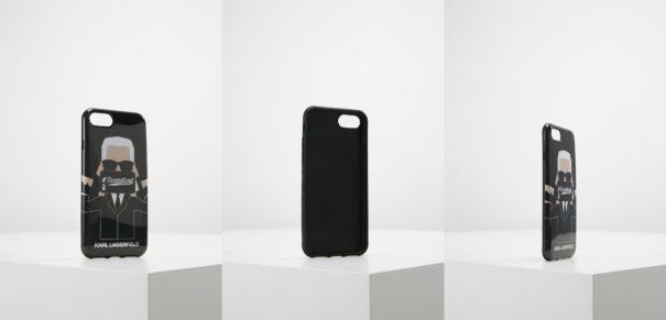 KARL LAGERFELD PHOTOGRAPHY Etui na telefon transparent