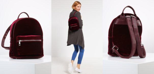 Even&Odd Plecak velvet/black