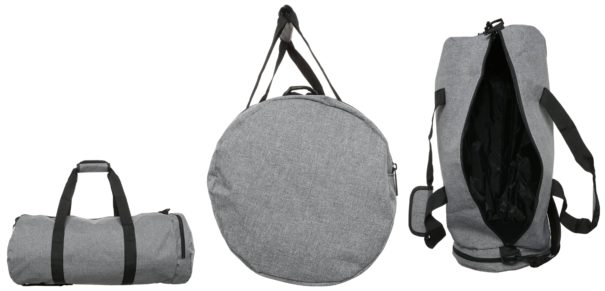 Spiral Bags DUFFEL Torba sportowa crosshatch grey