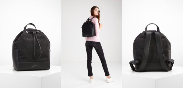 Calvin Klein MARINA Plecak black