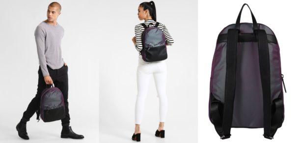 Calvin Klein FESTIVAL CAPSULE Plecak iridescent/ black