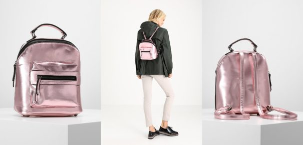 New Look DAY BAGS Plecak light pink