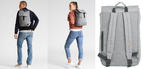 Spiral Bags COMMUTER Plecak crosshatch grey