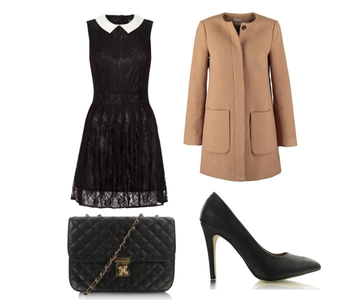 Stylizacja-wieczorowa-czarna-sukienka-na-jesień
