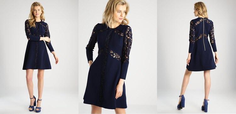 Jakie Dodatki Do Granatowej Sukienki Zobacz Poradnik I Stylizacje