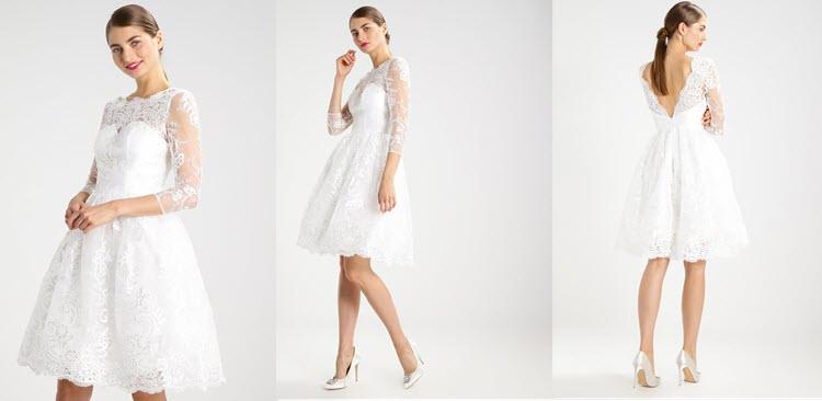 biała sukienka na studniówkę