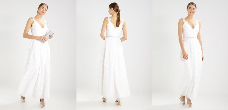 biała sukienka na sylwestra