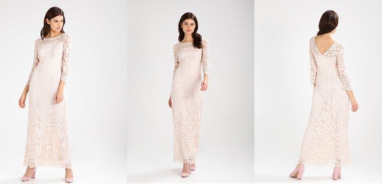 długa suknia koronkowa na studniówkę