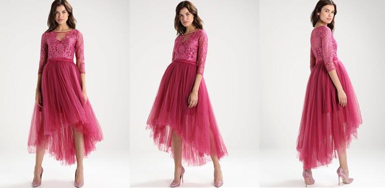 różowa sukienka na studniówkę krótka