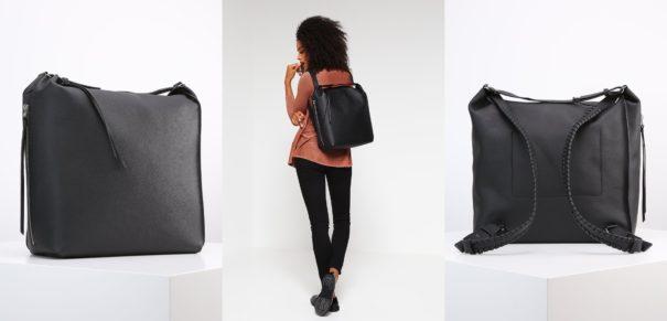 AllSaints KITA Plecak black