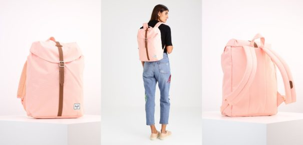Herschel POST Plecak apricot blush/tan