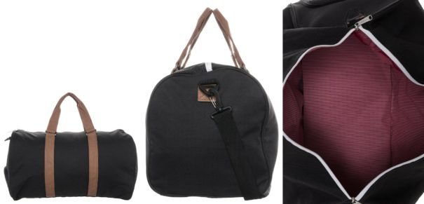Herschel NOVEL Torba weekendowa black