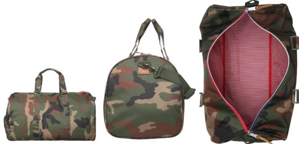 Herschel NOVEL Torba weekendowa woodland camo/multi zipper