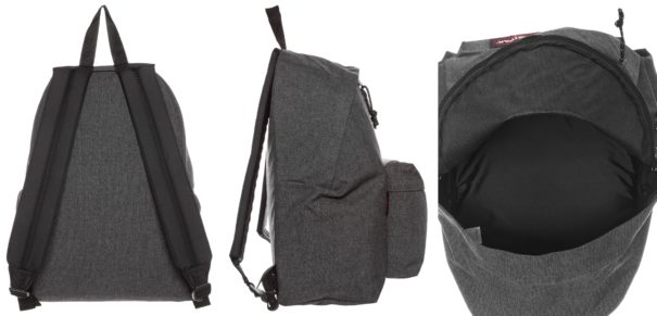 Eastpak PADDED PAK'R/CORE COLORS Plecak black denim