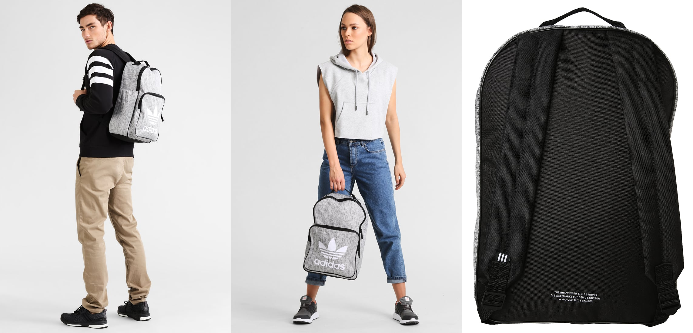 adidas Originals Plecak black • Modne torebki damskie