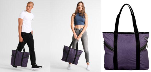 Nike Sportswear AZEDA Torba na zakupy dark raisin/black