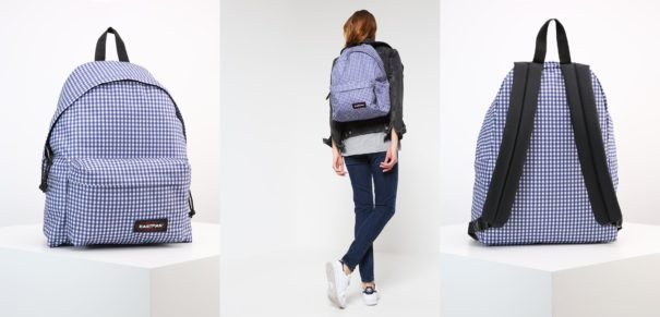Eastpak PADDED PAK'R/GINGHAM Plecak gingham blue