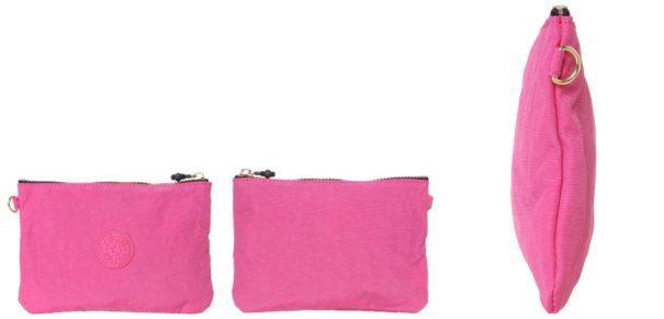 Kipling IAKA SET Kosmetyczka carmine pink