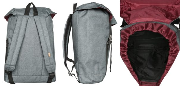 Spiral Bags HAMPTON Plecak calssic charcoal/black
