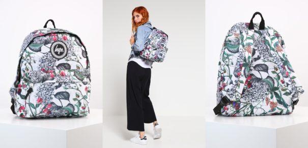 Hype BRITISH GARDEN Plecak multicolor