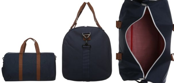Herschel NOVEL Torba weekendowa navy/tan